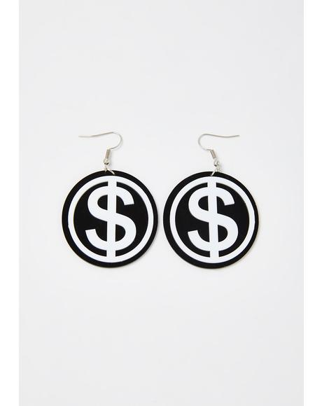 Big Spender Drop Earrings