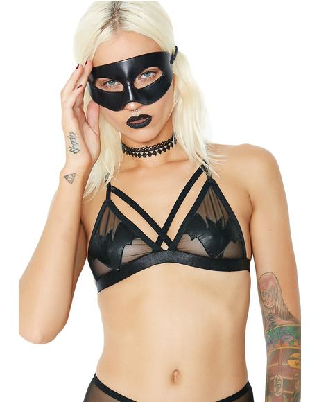 Naughty Nosferatu Sheer Bralette