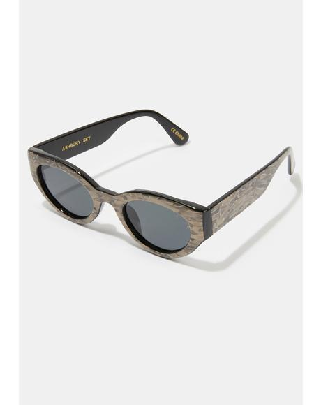 Ashbury Sky Pearl Smoke Sunglasses