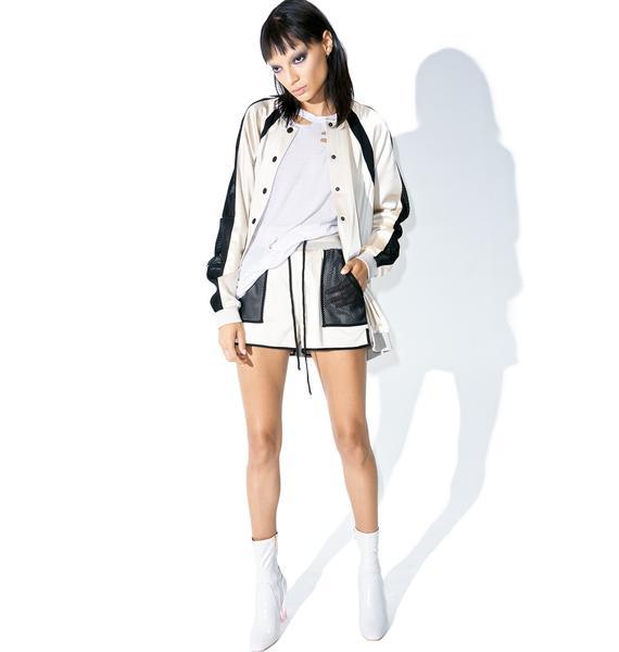 Kendall + Kylie Satin Shorts