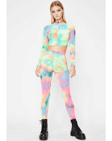 Wonderland BB Tie Dye Set
