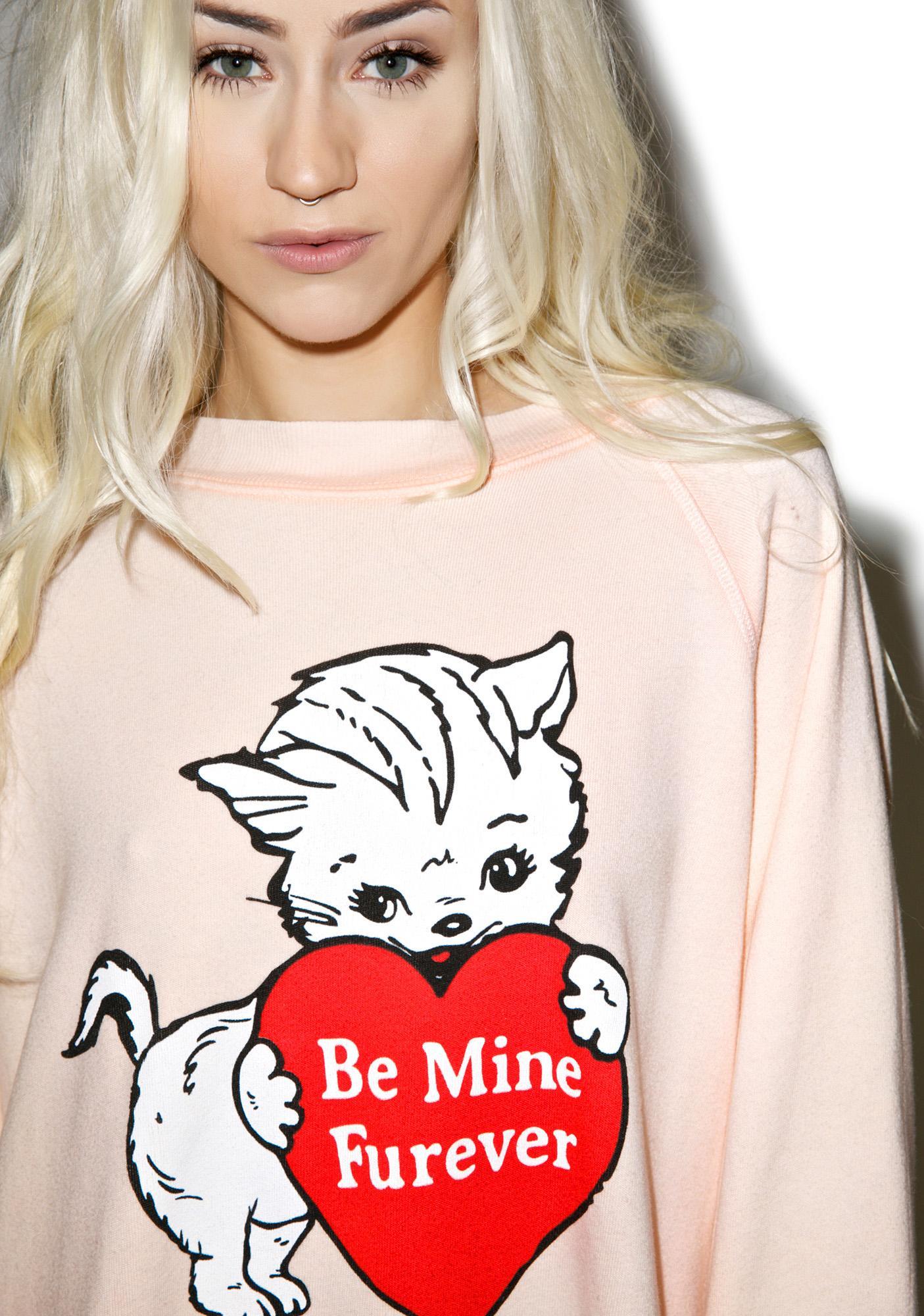 Wildfox Couture Furever Kim's Sweater