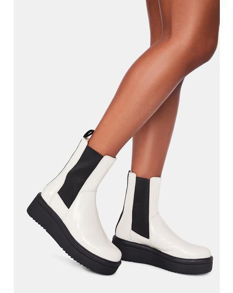 White Tara Boots