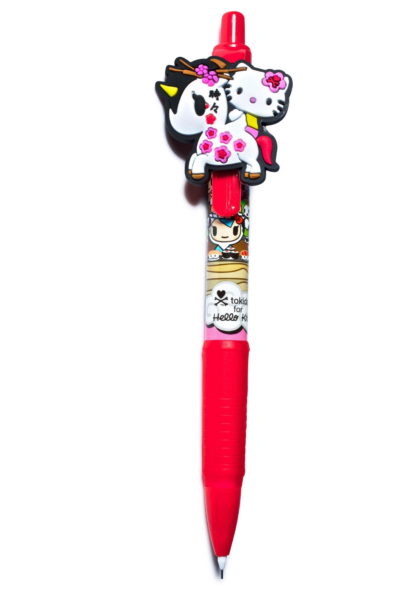 Tokidoki x Hello Kitty Unicorno Mechanical Pencil