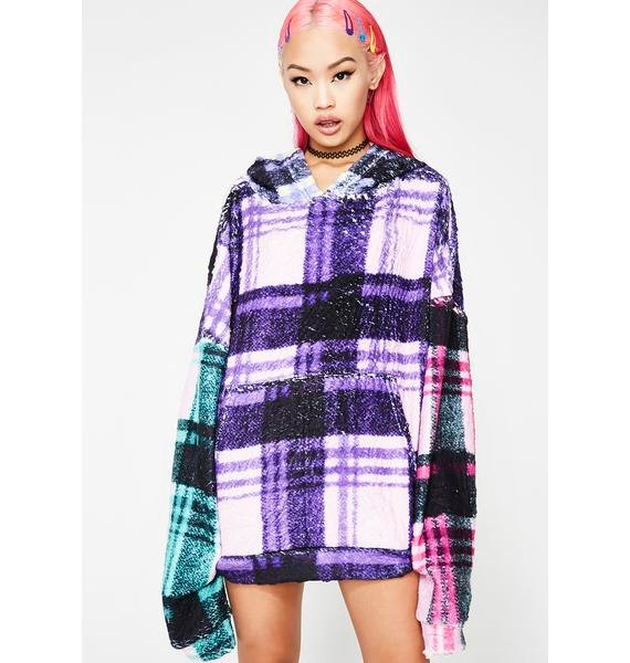 Jaded London Check Snuggle Jumper