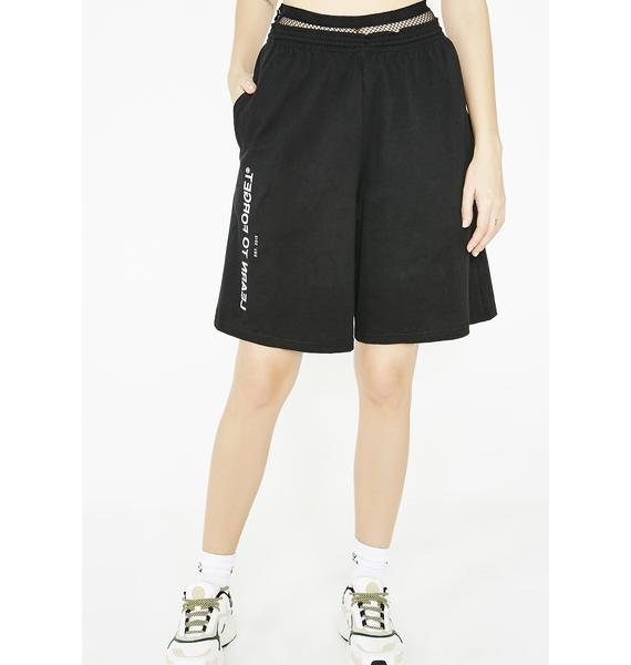 Learn To Forget x Champion Shorts