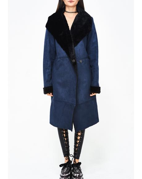 Not So Shearling Coat