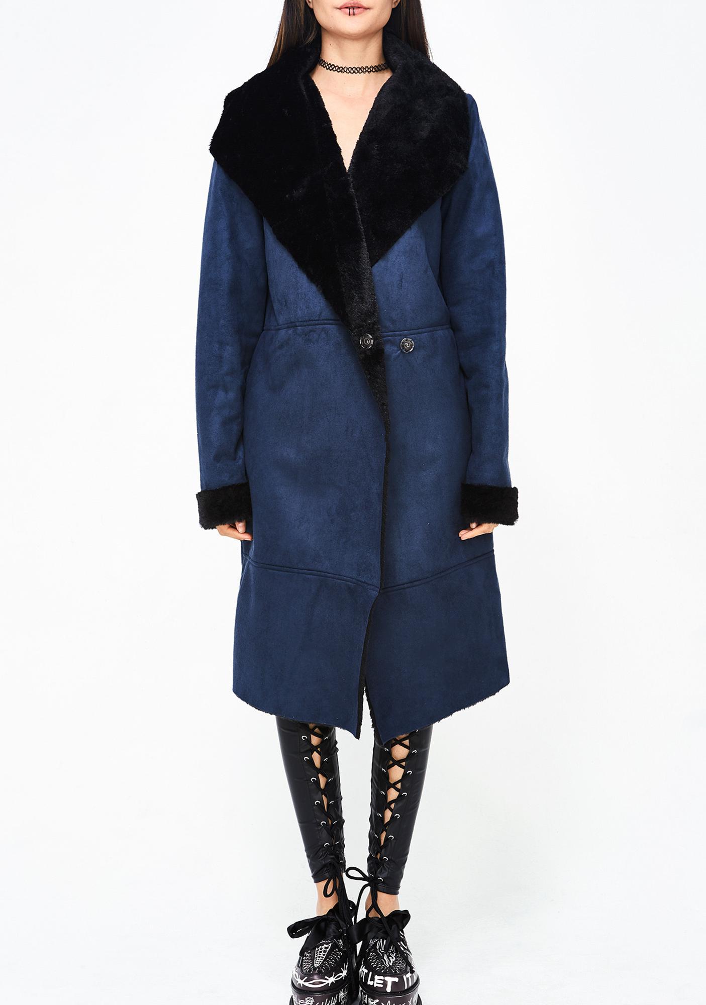 Not So Shearling Coat