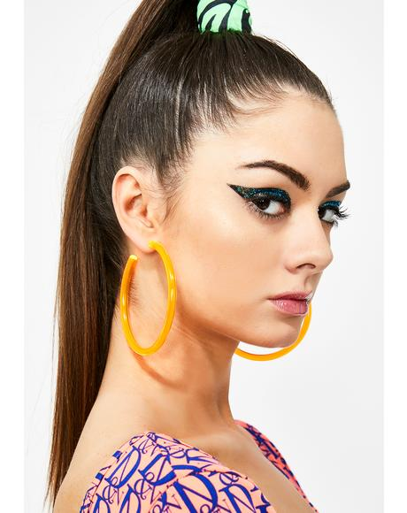 Juicy Ravelicious Hoop Earrings