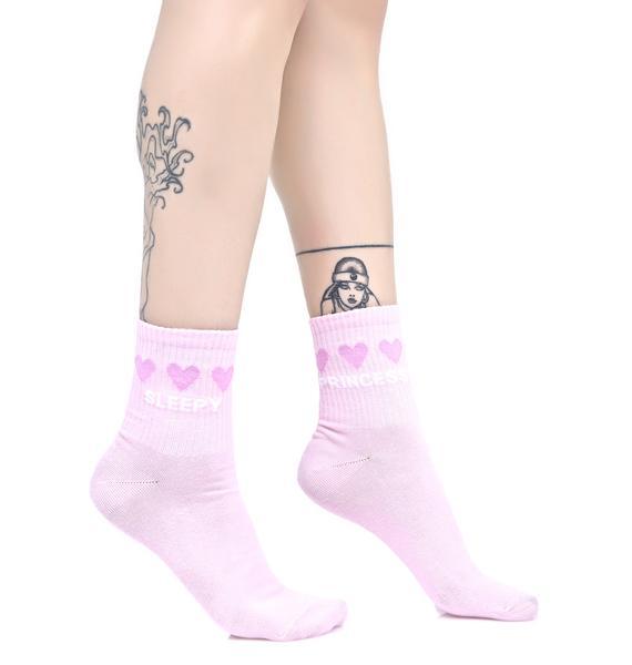 Yeah Bunny Sleepy Princess Socks