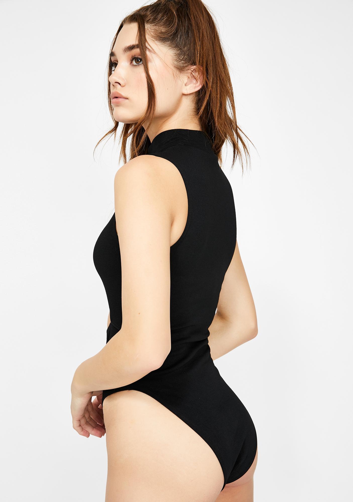 Motel Mewcow Cutout Bodysuit