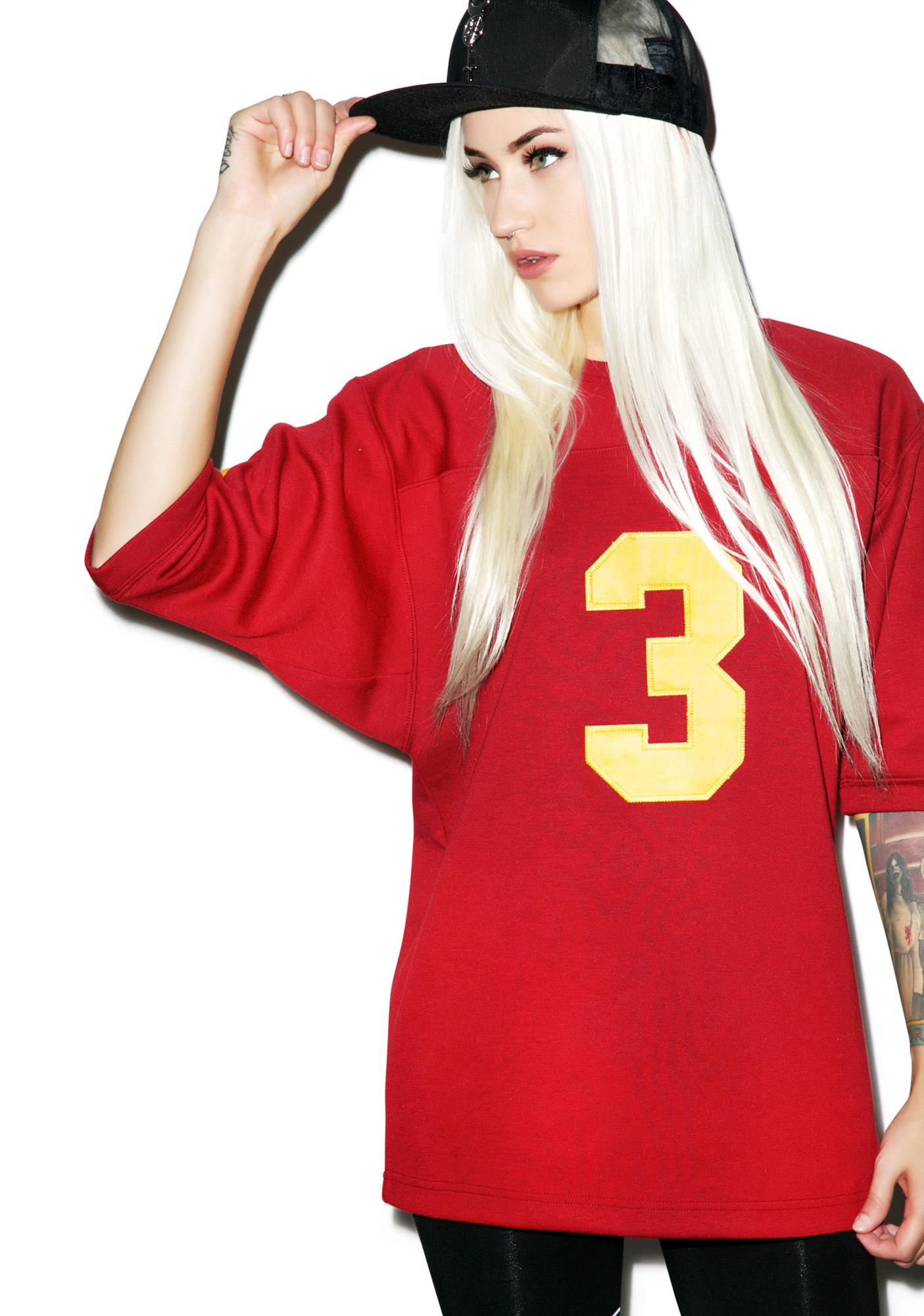 Black Scale Triple Goddess Football Jersey