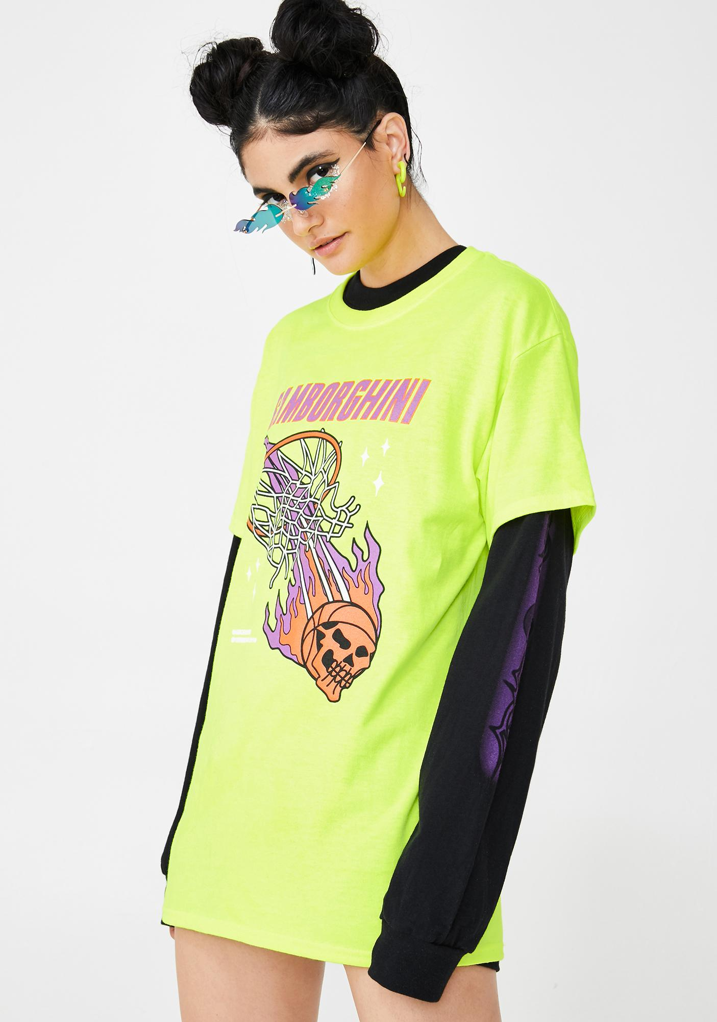 Samborghini Basketball Graphic Tee