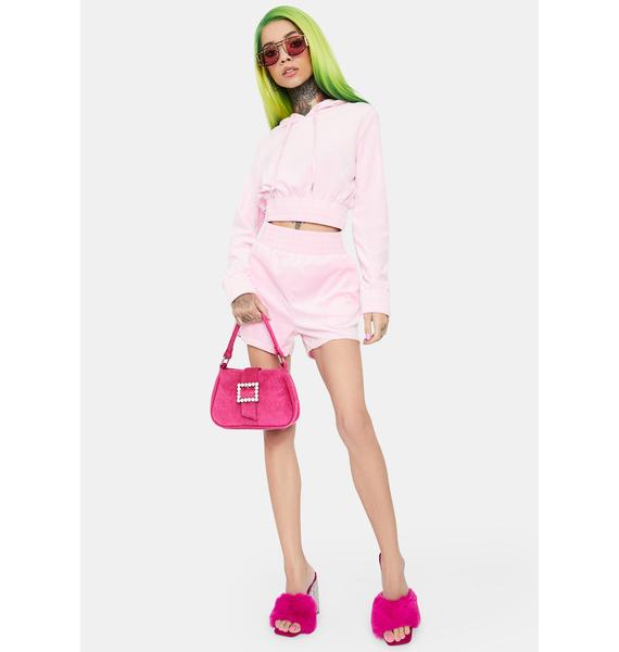 Blush Plush Player Velour Set