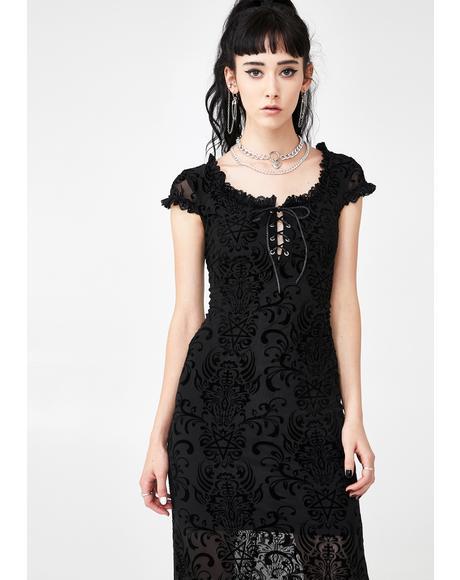 Haunt Me Maxi Dress