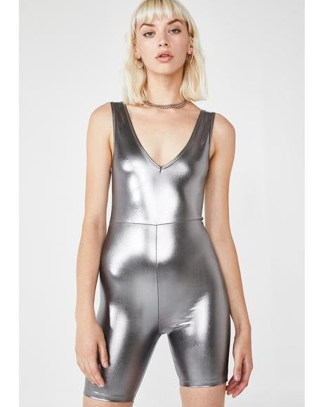Sadie Metallic Unitard