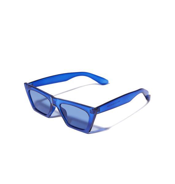 Cobalt Beam Me Up Sunglasses