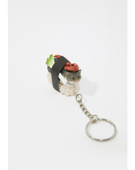 Sushi Cat Key Ring Mystery Box