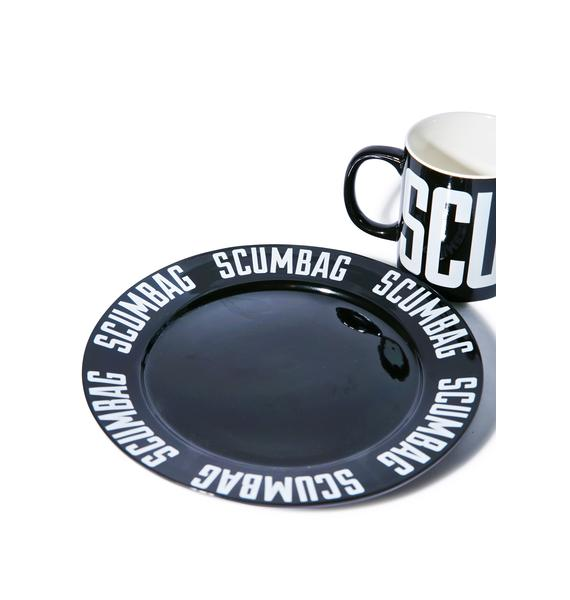 Sourpuss Clothing Scumbag Plate