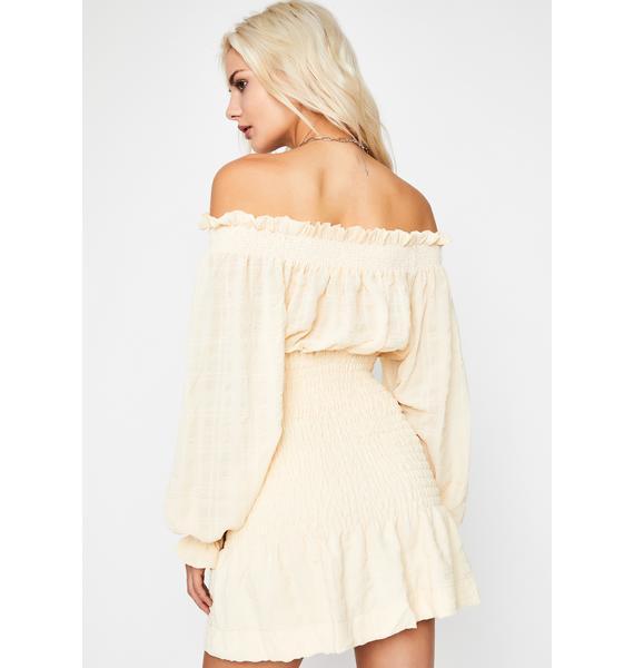 Whenever Love Smocked Dress
