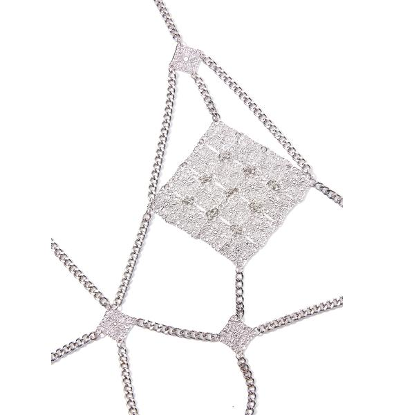Diamond Darling Body Chain