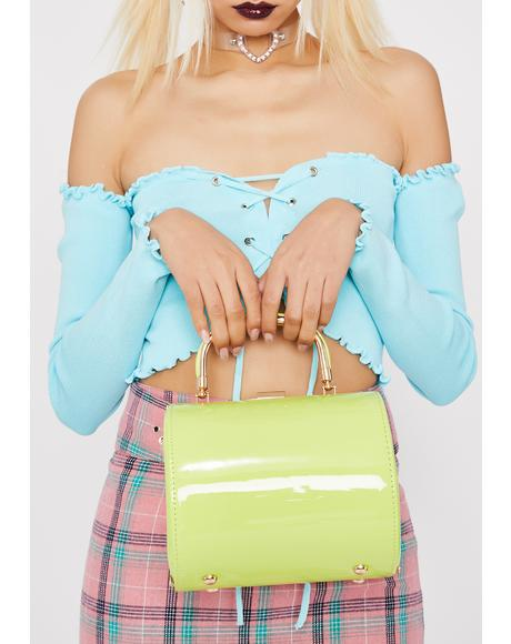 Electric Downtown Vibe Crossbody Bag