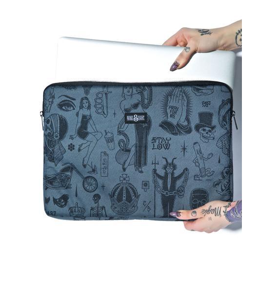 Rebel8 Giant Flash Laptop Sleeve