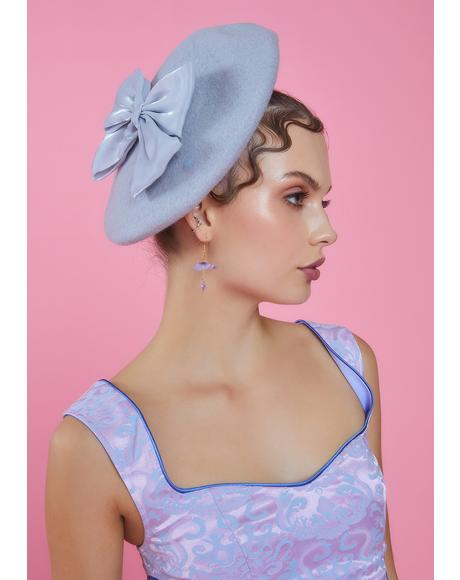 Hillside Princess Bow Beret
