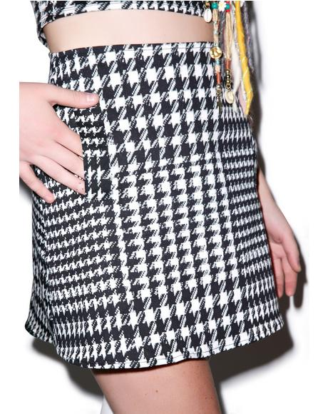 Nina High Waisted Skirt