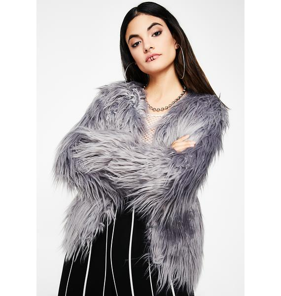 Neverly Hills Furry Jacket