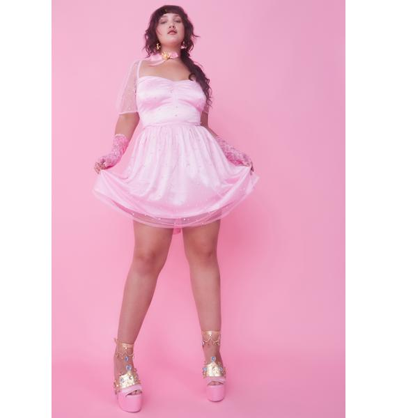 Sugar Thrillz Lil Princess Lockdown Babydoll Dress