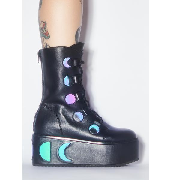 Strange Cvlt Mystik Reflective Boots