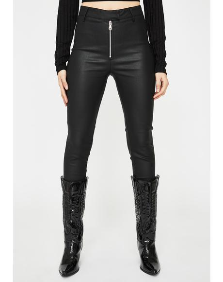 Midar Vegan Leather Pants