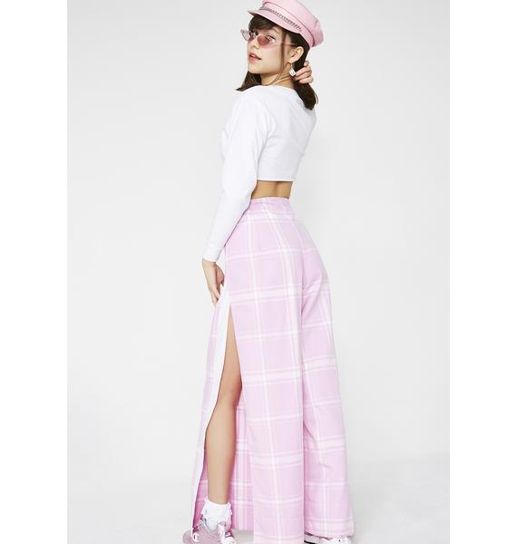 LOVE TOO TRUE Portia Split Trousers