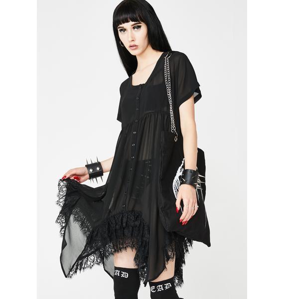 Widow Lethal Lyric Mini Dress