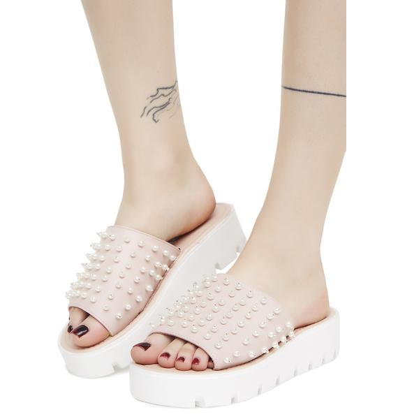 Rose Fancy Footwork Platform Slides
