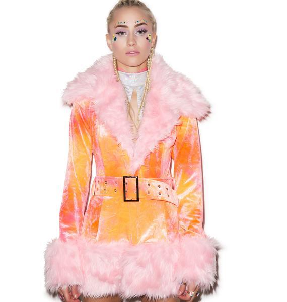 J Valentine Cotton Candy Coat