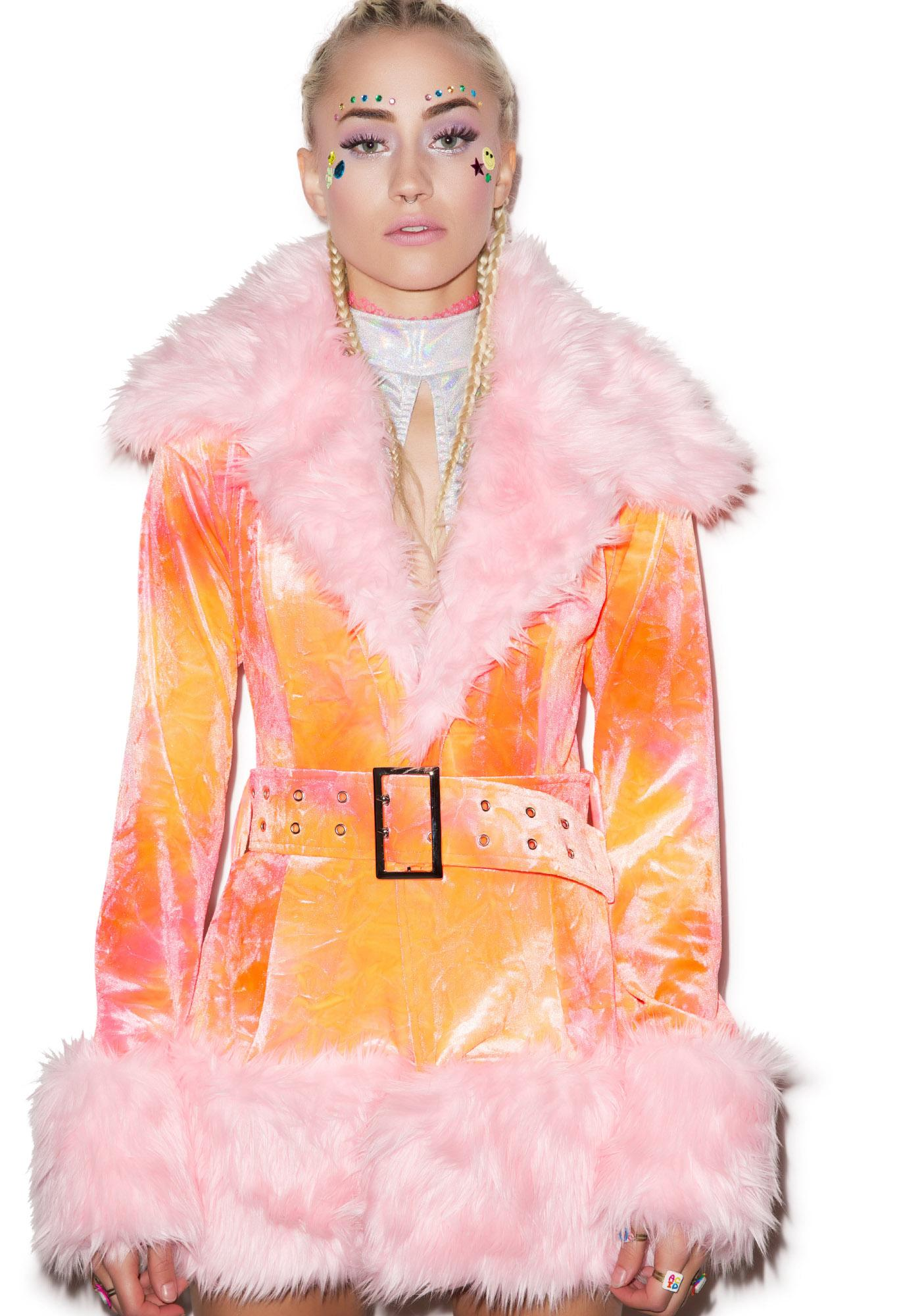 J Valentine Cotton Candy Coat