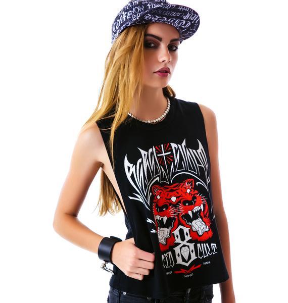 Rebel8 Acid Cult Crop Tank