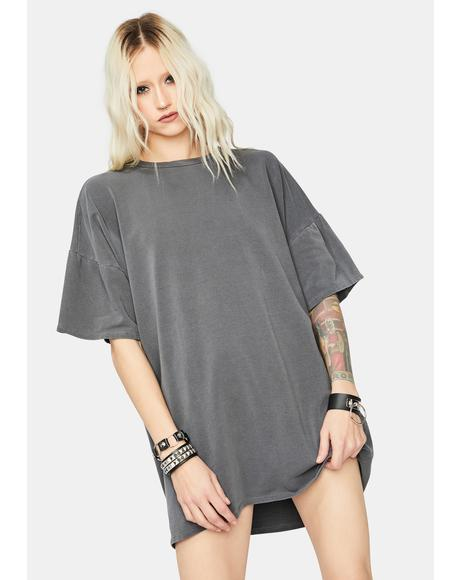 Sour Secrets T-Shirt Dress
