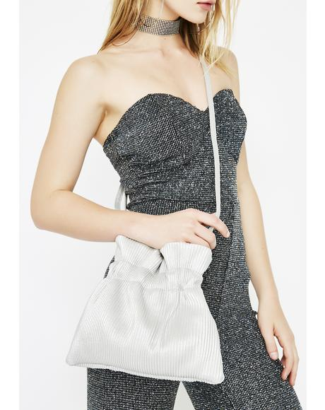 All Nite Long Metallic Purse
