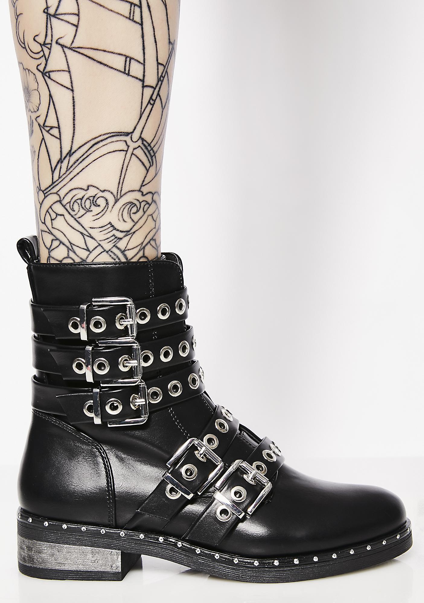 Biker Babe Moto Boots