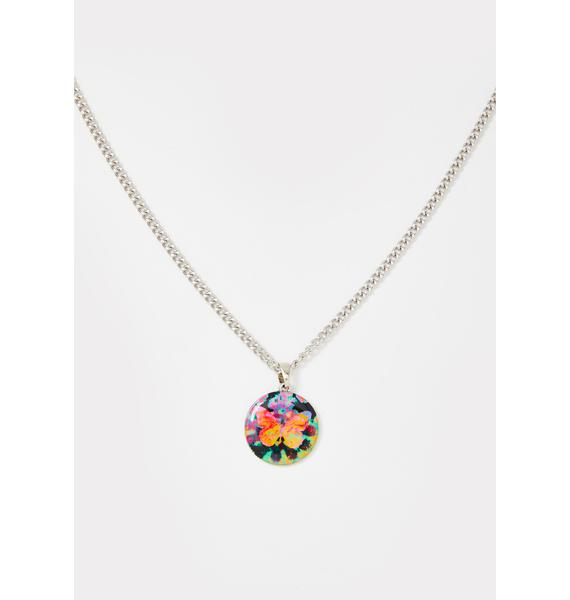 Drift Away Butterfly Necklace
