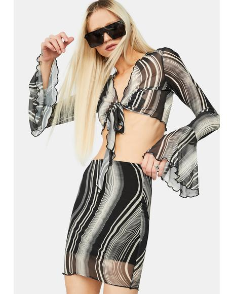 Lost In A Trance Swirl Mesh Set