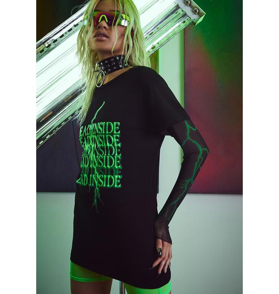 Current Mood No Feelings Graphic Tee