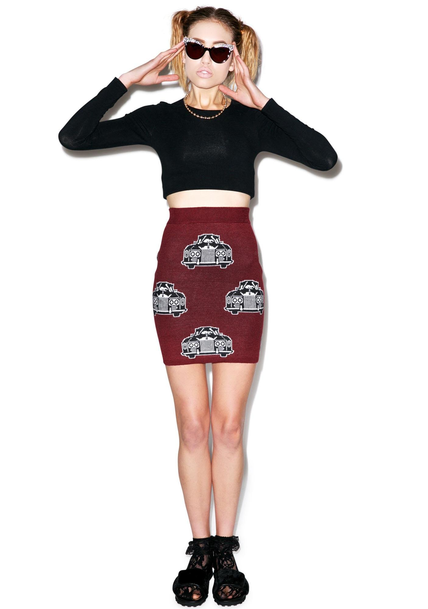 Joyrich Royal Ride Mini Tube Skirt