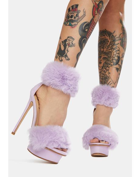 Mauve Bambam Heels