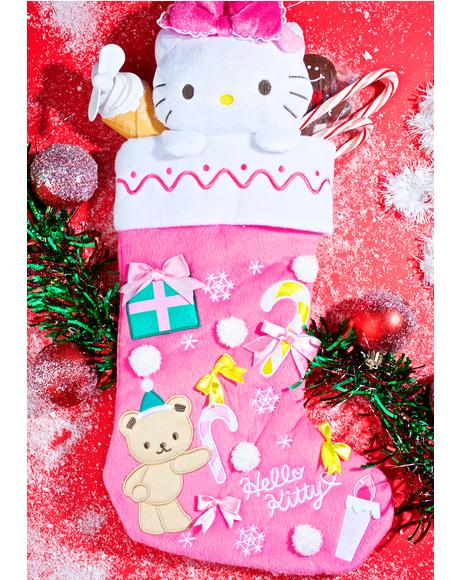 Hello Kitty Holiday Stocking