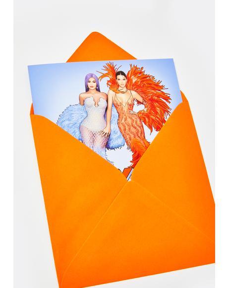 Kylie Kendall Slay Sis Card