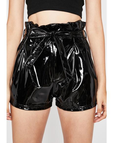 Unholy Candy Wrapper Vinyl Shorts